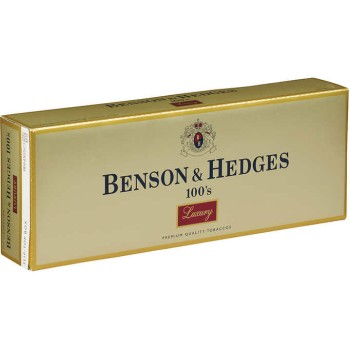 Benson & Hedges 100s Luxury Box