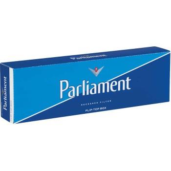 Parliament Blue Pack Box